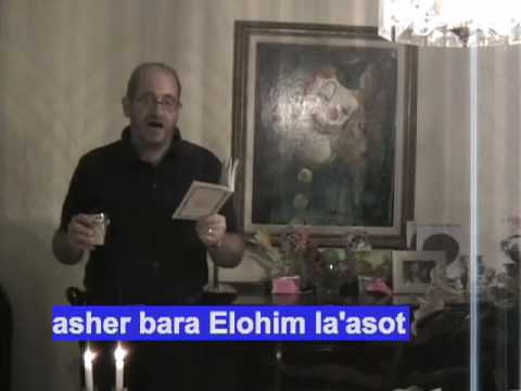 Candle Lighting with Rabbi Eli Garfinkel