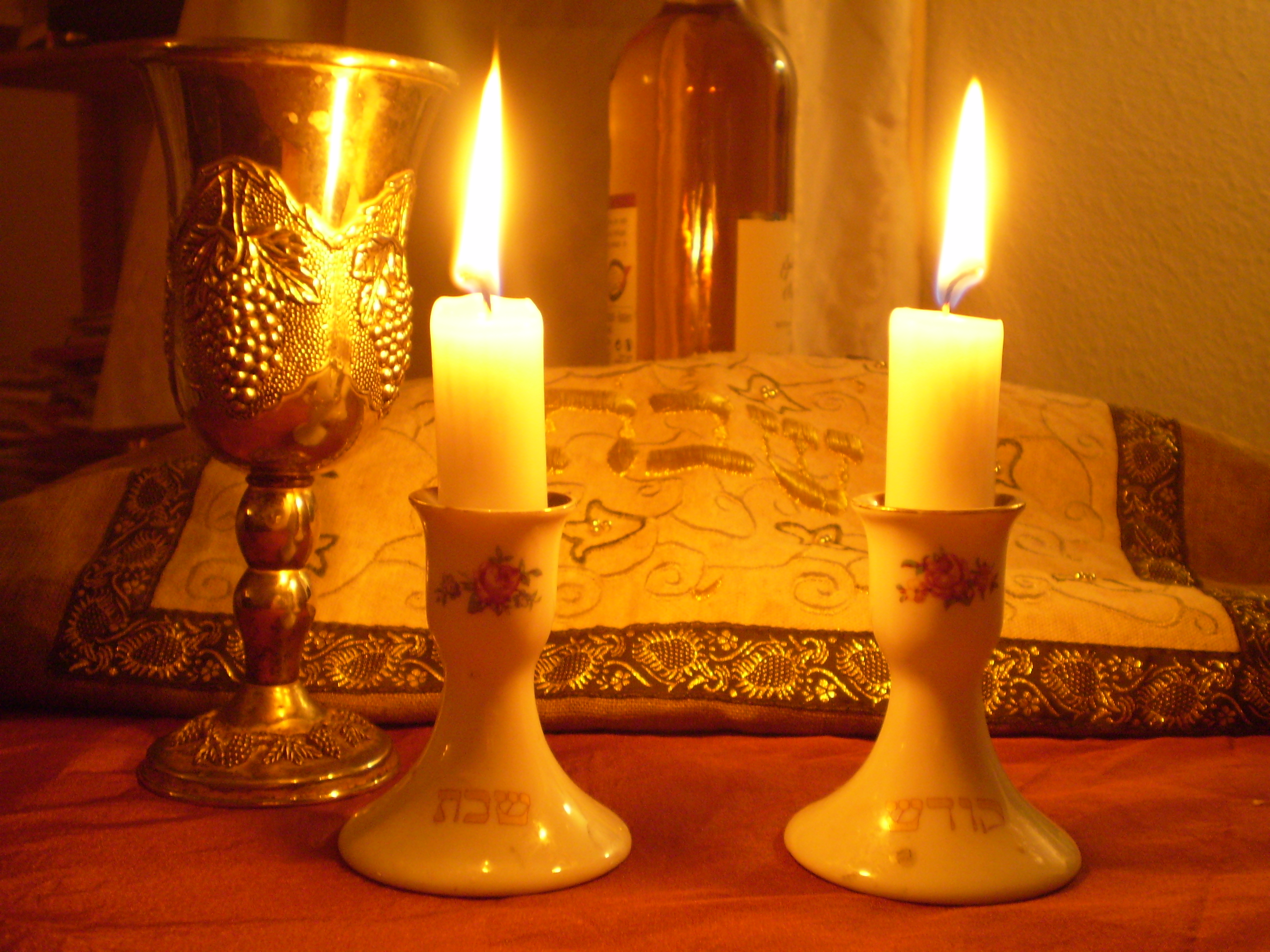 Shabbat Candle Lighting Blessing: Audio and Text