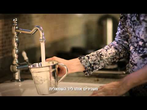 A Practical Guide to Washing Hands Before a Meal (Hebrew)