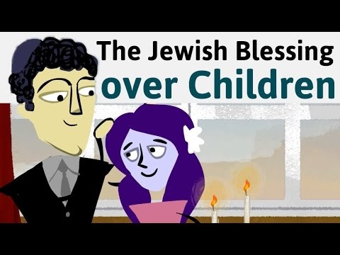 How and Why Jewish Parents Bless Their Children on Shabbat