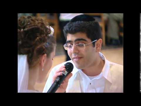 אשת חיל' בנוסח אשכנזי בביצוע חתן לכלתו בחתונתם