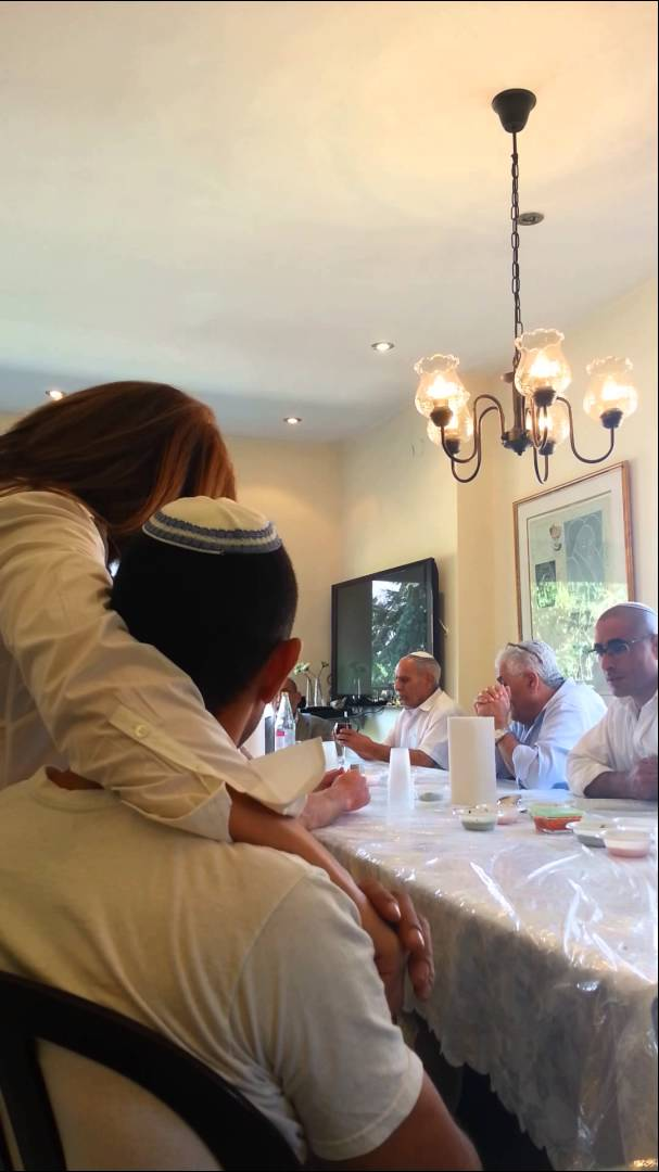 Home Video of Yemenite Daytime Kiddush