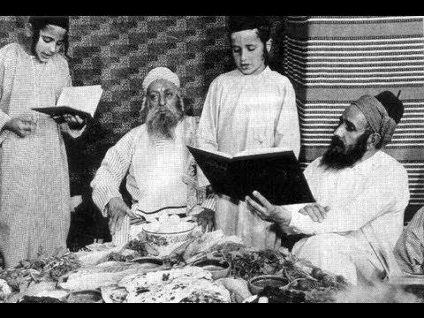קידוש לליל הסדר נוסח יהודי תימן