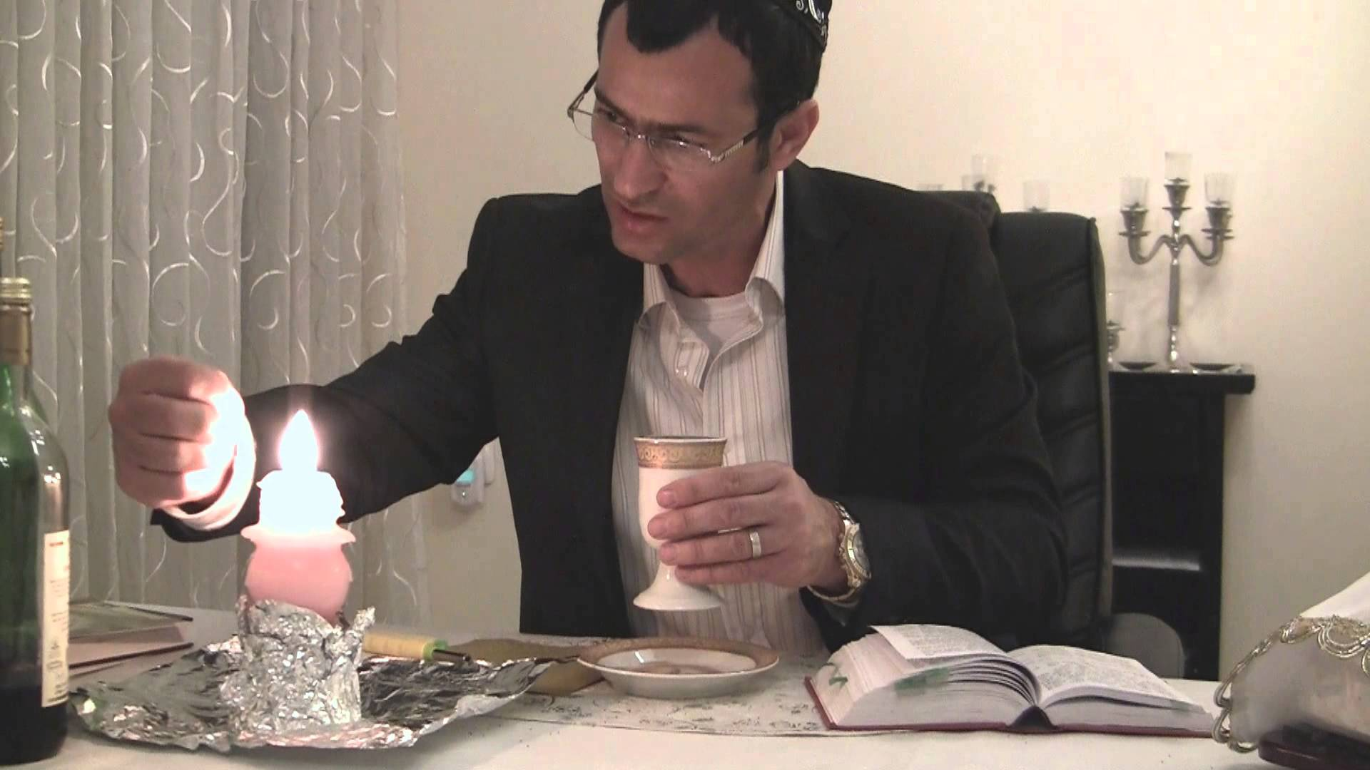 How to Perform Havdalah According to Nusach Yerushalmi