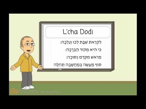 Let's Learn T'fillah: L'cha Dodi
