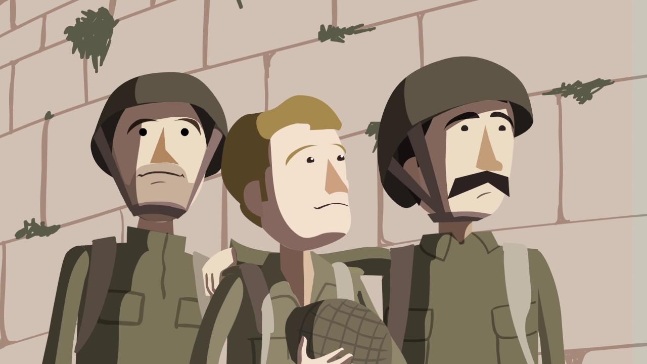 מלחמת ששת הימים- באנימציה