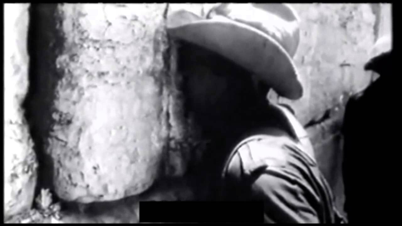 "Footage from the Liberation of the Western Wall and the Temple Mount in 1967: ""The Temple Mount is in Our Hands"""