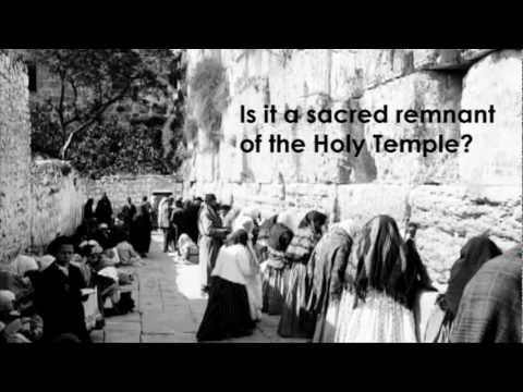 Educational Resources for Exploring the Western Wall Controversies