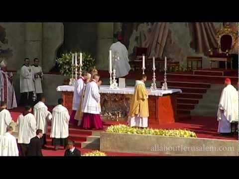 ביקור האפיפיור בירושלים