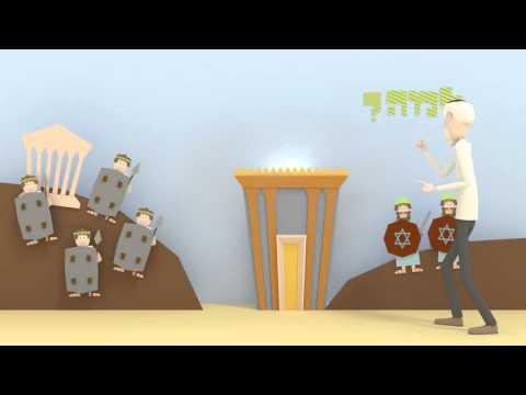 """מהו חנוכה? הלכות חנוכה של הרמב""""ם באנימציה"""