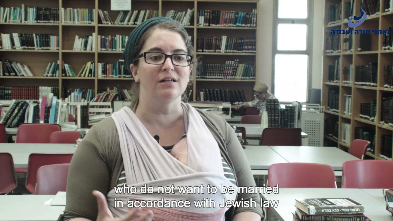A Religious-Zionist Perspective on Civil Marriage in Israel