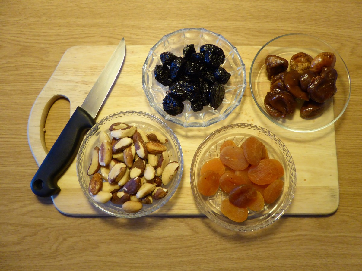 צ'אטני פירות יבשים