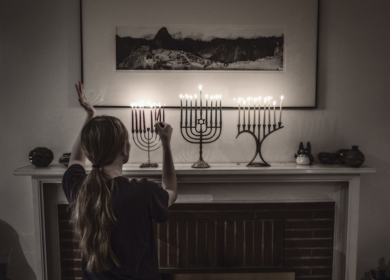 Hanukkah Blessings & Hanerot Halalu with Feminine God Language