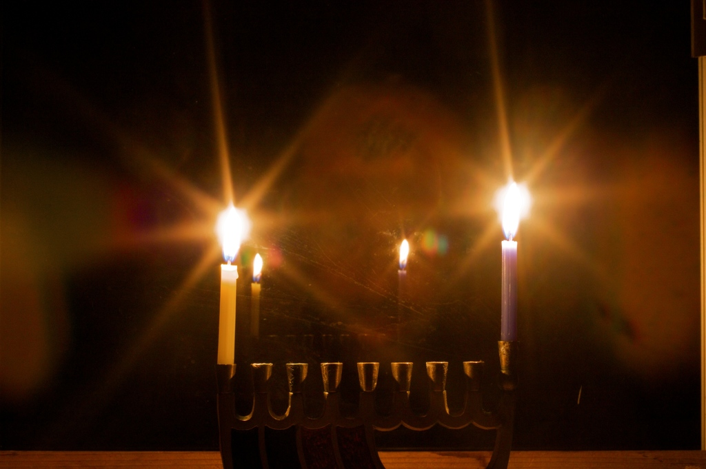 A Hanukkah Candle Lighting Kavvanah for Peace