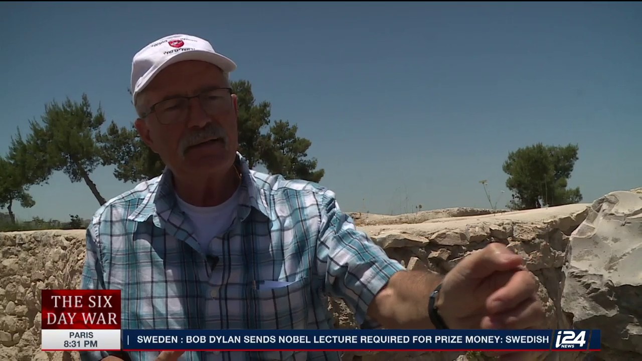 IDF Veteran Yaki Hetz Returns to Ammunition Hill: 50 Years Later