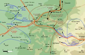 לטרון וסיפור הקרב על הדרך לירושלים- שאלות לדיון