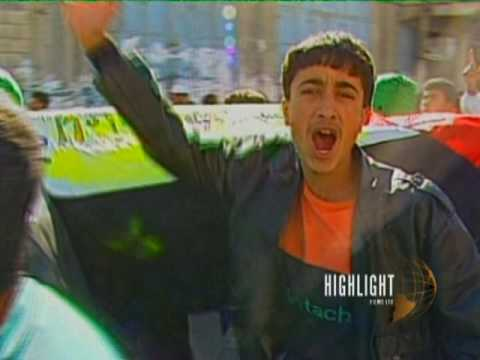 Footage of Typical Violence from The First Intifada