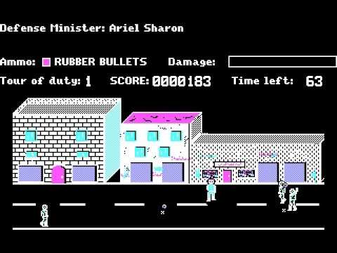 Intifada: An Israeli Computer Game from The First Intifada