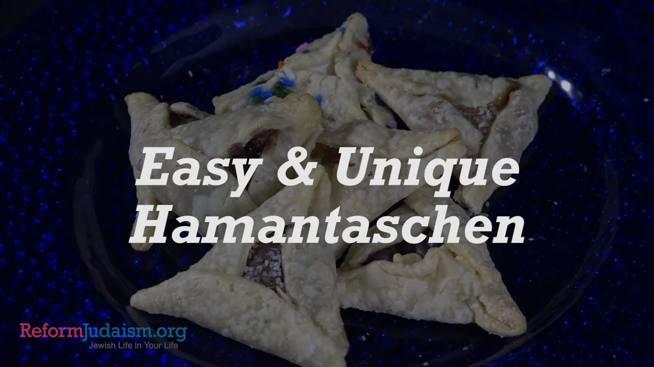 Easy & Unique Hamantaschen