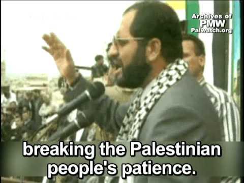 PA Minister: Intifada Planned Since Camp David