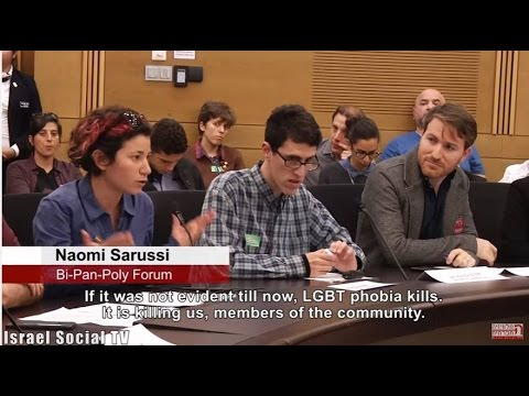 Discussions of LGBT Issues in the Knesset