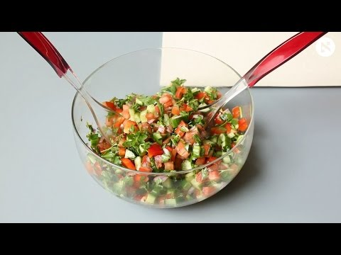 How to Make Israeli Salad