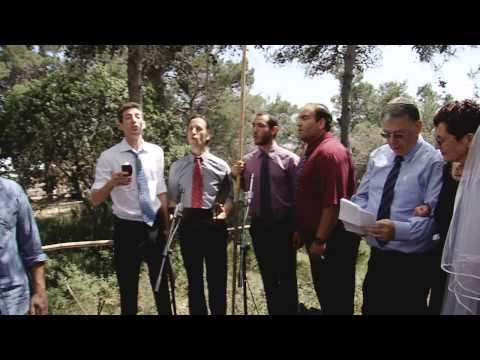 'שבע ברכות' בנוסח אשכנזי-מודרני (וידאו וטקסט)