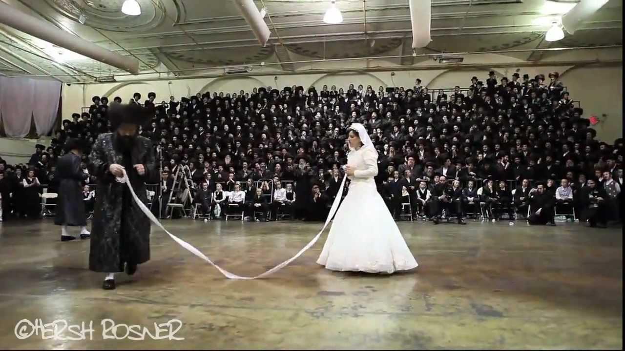'ריקוד המצווה' ('מצווה טאנץ')- מנהג חתונה חסידי