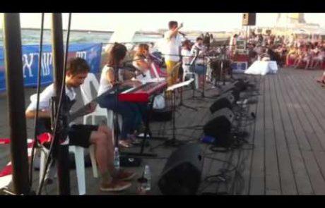Ethiopian Melody for Lecha Dodi on the Tel Aviv Port