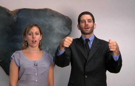 Reconstructionist Torah Reading Blessings in ASL