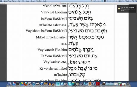 How to Recite Friday Night Kiddush